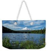 Thillium Lake And Mt Hood Weekender Tote Bag