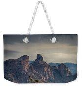 Thimble Peak Sunrise Weekender Tote Bag