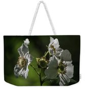 Thimbleberry Blossoms Weekender Tote Bag