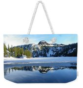 Thin Ice Weekender Tote Bag