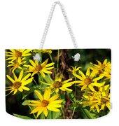 Thin-leaved Sunflower Weekender Tote Bag