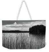 Thin Rain In The Evening Weekender Tote Bag