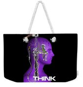 Think Weekender Tote Bag