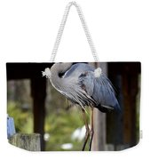 Thinking About Lunch Weekender Tote Bag