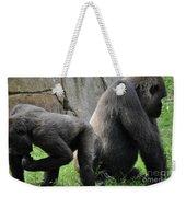 Thinking Gorilla Weekender Tote Bag