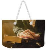 Thinking - Id 16217-152033-4576 Weekender Tote Bag