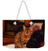 Thinking Of You - Bengal Cat Weekender Tote Bag