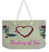 Thinking Of You Card Weekender Tote Bag
