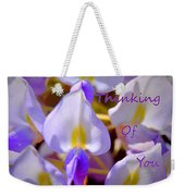 Thinking Of You Wisteria Weekender Tote Bag