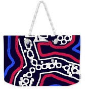 Thinking Red White And Blue Weekender Tote Bag