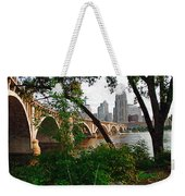 Third Avenue Bridge Weekender Tote Bag