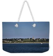 Third Beach Middletown With Church Weekender Tote Bag
