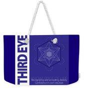 Third Eye Chakra Series Three Weekender Tote Bag