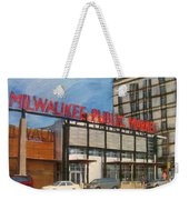 Third Ward - Milwaukee Public Market Weekender Tote Bag
