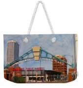 Third Ward Arch Over Public Market Weekender Tote Bag