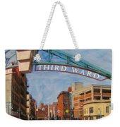 Third Ward Entry Weekender Tote Bag
