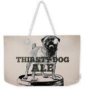Thirsty Dog Ale Weekender Tote Bag