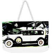 Thirties Packard Limo Weekender Tote Bag