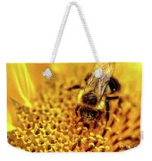 The Bee Is A Little Pig Weekender Tote Bag