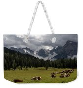 This Is A Cow's World Weekender Tote Bag