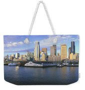 This Is The Skyline And Harbor Weekender Tote Bag