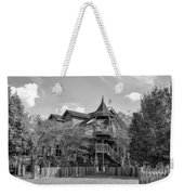This Old House In Black And White Weekender Tote Bag