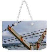 This Side Of The Fence Weekender Tote Bag