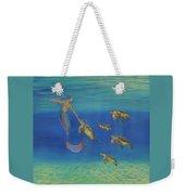 Swim This Way Weekender Tote Bag