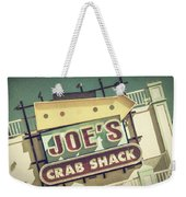 This Way To Joe's Crab Shack Weekender Tote Bag