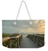 This Way To The Beach Weekender Tote Bag