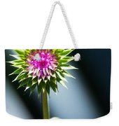 Thistle Bloom Weekender Tote Bag