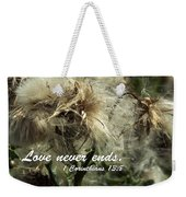 Thistle In Seed Weekender Tote Bag