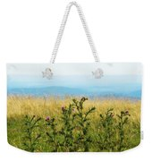 Thistle On The Blue Ridge Weekender Tote Bag