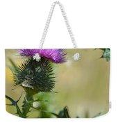 Thistle Spikes Weekender Tote Bag