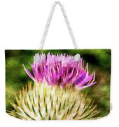Thistle - The Flower Of Scotland Watercolour Effect. Weekender Tote Bag