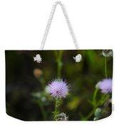 Thistles Morning Dew Weekender Tote Bag