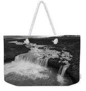 Thofafoss Waterfall Iceland 1538 Weekender Tote Bag