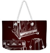 Thomas A. Edison Jr. Toaster Patent 1933 2 Weekender Tote Bag