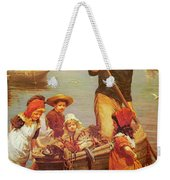 Thomas Edwin Monsters Of The Deep Weekender Tote Bag