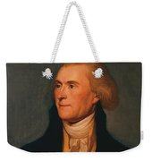 Thomas Jefferson Weekender Tote Bag