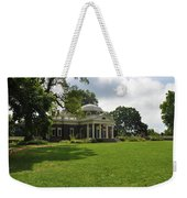 Thomas Jefferson's Monticello Weekender Tote Bag by Bill Cannon