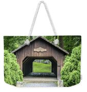 Thomas Malon Covered Bridge Weekender Tote Bag