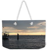 Thomas Point - The Morning Sun Over The Bay Weekender Tote Bag
