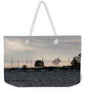 Thomas Point - Waiting To Sail Weekender Tote Bag