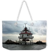 Thomas Point Shoal Lighthouse - Up Close Weekender Tote Bag