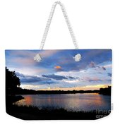 Thompson Lake 3 Weekender Tote Bag