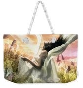 Thorn Weekender Tote Bag by Mo T