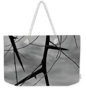 Thorns In Silouette Weekender Tote Bag