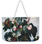 Thornton: Begonia Weekender Tote Bag