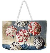 Thornton: Carnations Weekender Tote Bag
